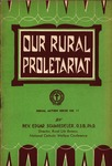 Our Rural Proletariat