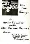 Little Servant Sisters vocation brochure by Little Servant Sisters of the Immaculate Conception