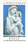 Genoa Madonna enameled Terra Cotta