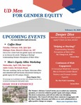 UD Men for Gender Equity Newsletter, Issue 1 by University of Dayton. Women's Center