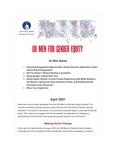 UD Men for Gender Equity Newsletter, April 2021