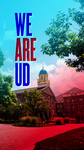 Mobile Device Background: We Are UD (Chapel in Background)
