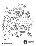 Coloring Page: Our Light Does More than Shine