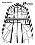 Coloring Page: Stained Glass Window
