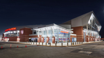 Background Image: UD Arena Exterior: Connor Lobby Entrance