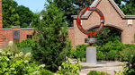 Background Image: Three O'Clock Prayer Sculpture, Chapel North Courtyard by University of Dayton