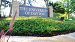 Background Image: University of Dayton Sign