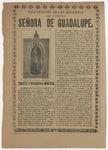 Profanacion de las reliquias de Nuestra Senora de Guadalupe by lmprenta de Antonio Vanegas Arroyo