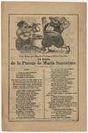 Loa dicha par Sancho Panza y Dona Cenobia. En honor de la pureza de Maria Santisima. by lmprenta de Antonio Vanegas Arroyo