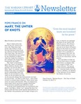 The Marian Library Newsletter Winter 2013-14 by University of Dayton. Marian Library.