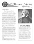 The Marian Library Newsletter: Issue No. 20