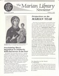The Marian Library Newsletter: Issue No. 17