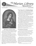 The Marian Library Newsletter Winter 2002-03