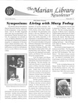 The Marian Library Newsletter: Issue No. 52 by University of Dayton. Marian Library.