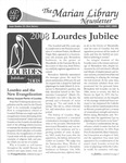 The Marian Library Newsletter Winter 2007-08 by University of Dayton. Marian Library.
