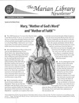 The Marian Library Newsletter: Issue No. 57
