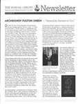 The Marian Library Newsletter Autumn 2012