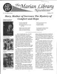The Marian Library Newsletter Spring 1991