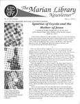 The Marian Library Newsletter Winter 1991-92