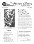 The Marian Library Newsletter Winter 1997-98