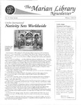 The Marian Library Newsletter Winter 1998-99