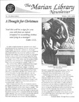 The Marian Library Newsletter Winter 1999-2000