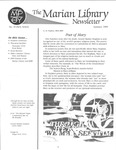 The Marian Library Newsletter Summer 1989