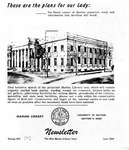 The Marian Library Newsletter June 1959