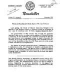 The Marian Library Newsletter October 1959