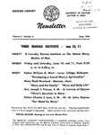 The Marian Library Newsletter June 1955