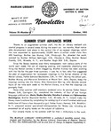 The Marian Library Newsletter October 1955