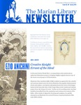Marian Library Newsletter, Issue No. 69 by University of Dayton. Marian Library