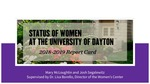 Measuring Gender Equity at UD Among Faculty, Staff, and Leadership