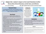 Religion War: Judaism's Impact on the Israeli-Palestinian Conflict