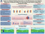 Impact of a Dialogic Reading Intervention on the Effectiveness of an Adaptive Magnitude Comparison eBook for Improving Young Children's Magnitude Comparison Skills