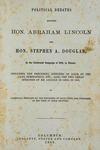 Lincoln: Political Debates of 1858