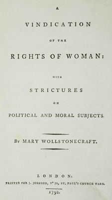 a vindication of the rights of woman 1792 pdf