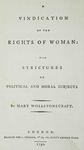 Wollstonecraft: 'A Vindication on the Rights of Woman'