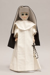 Doll wearing habit worn by Sinsinawa Dominican Sisters