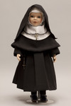 Doll wearing habit worn by Sisters of Saint Agnes
