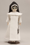 Doll wearing habit worn by Springfield Dominicans