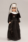 Doll wearing habit worn by Sisters of the Holy Spirit and Mary Immaculate