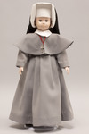 Doll wearing habit worn by Sisters of the Precious Blood of Dayton, Ohio