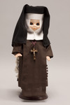Doll wearing habit worn by Felician Sisters