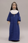 Doll wearing habit worn by Sisters, Servants of the Immaculate Heart of Mary by Blessings Expressions of Faith