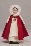 Doll wearing habit worn by Sisters of the Sacred Hearts of Jesus and Mary