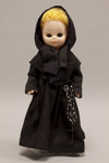Doll wearing habit worn by Religious Teachers Filippini