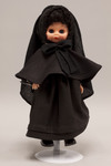 Doll wearing habit worn by Missionary Sisters of the Sacred Heart of Jesus