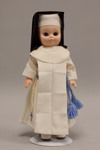 Doll wearing habit worn by Sisters of the Good Shepherd