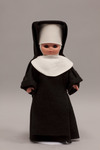 Doll wearing habit worn by Sisters of Charity of Saint Vincent de Paul